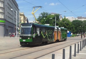 Picture from the introduction of the beer tram on 15.6.2013