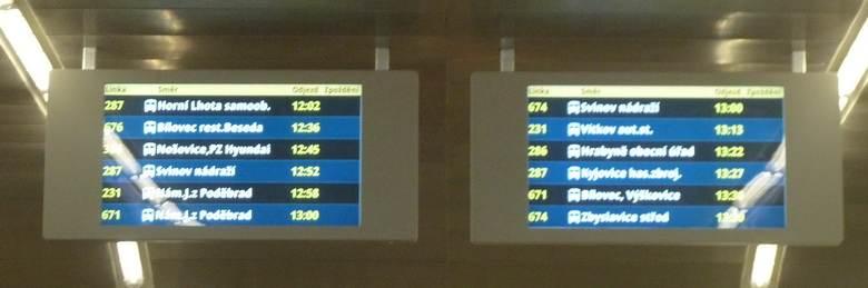 LCD panel pro vnější použití ELP A855E.