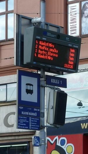 ELP Brno hlavní nádraží.