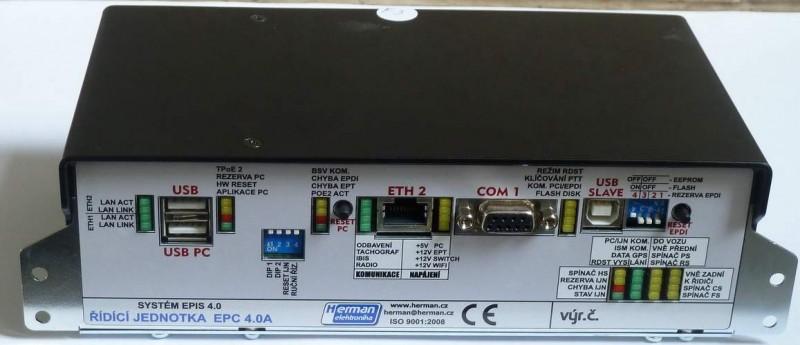 Řídicí jednotka palubního počítače EPIS 4.0A