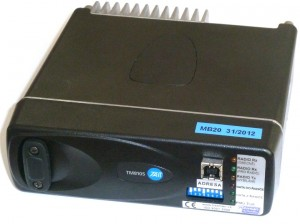 Pic. no.3: The  RMU 10 modem control unit for crossroads control units.