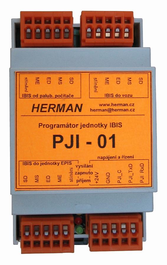 Programovací jednotka sběrnice IBIS - PJI - 01