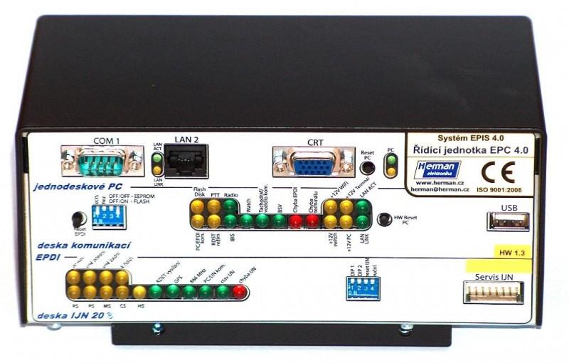 Řídicí jednotka palubního počítače EPIS 4.0