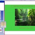 Úprava textů, obrázků a barevných ploch ve scénářích.
