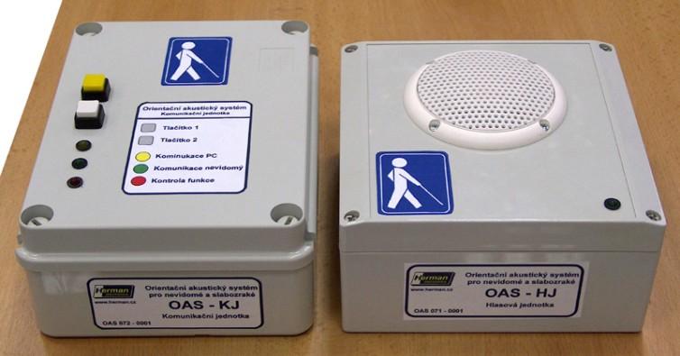 Hlasová a komunikační jednotka systému OAS.