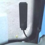 Umístění antény AN2N za čelní sklo autobusu