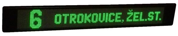 Vnější vozidlový LED panel – VLP 19×112