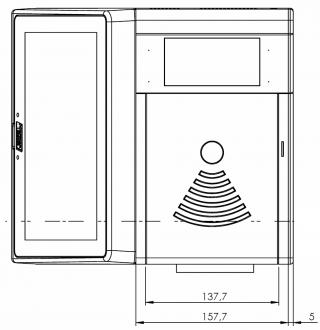 Obr. č. 5: Horní pohled na jednotku EPIS 5 FCC.