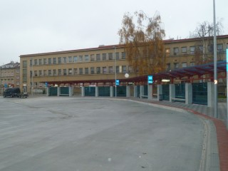 Pic. no.11:A view of the transportation terminal in Cheb .