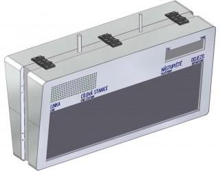 Рис. 2: Графическая информационная светодиодная панель для остановок - ELP 310B-20 (чертеж)