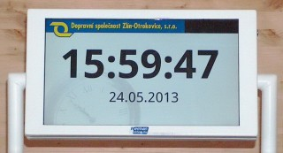 Pic. no.2: Information about time and date.