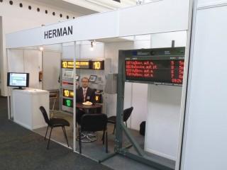 Exposición en la CZECHBUS 2013, Praga