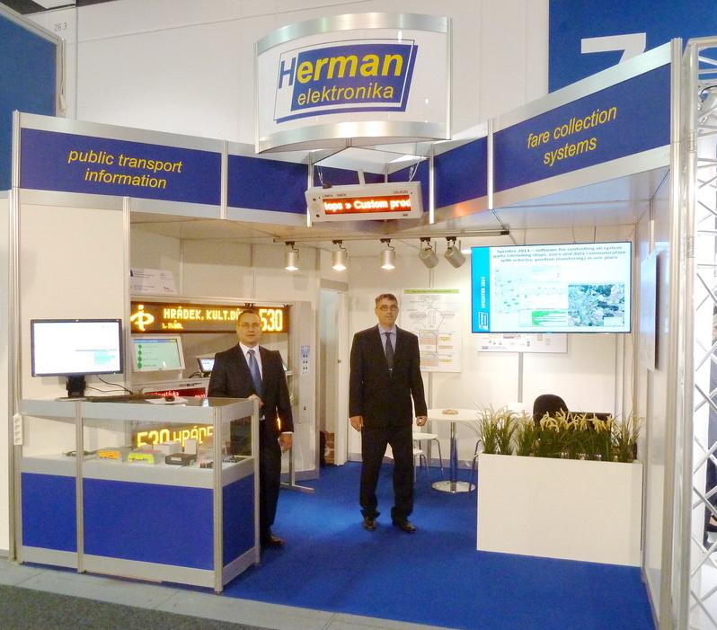 Стенд фирмы на международной выставке InnoTrans 2014.