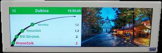 """Obr. č.1: VCS290AE-45 - Vnitřní jednostranný LCD panel 29"""", Ethernet, poměr stran 16:4,5"""
