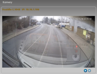 Pic. no.5: Example of reading event data from a front camera of a vehicle via the unit UCU 5.0 xx.