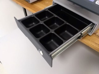 Pic. no.7 Money drawer on which the EPC 5.0A control unit can be placed