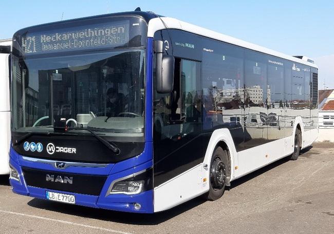 Autobus VLV Jagar s jednotkou V2X - UICU