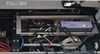 Obr. 2: Nainstalovaná jednotka UCU 5.0 v autobusu MAN v Ludwigsburgu.